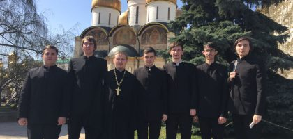 Поездка к святыням Москвы и Сергиева Посада — заметки семинаристов