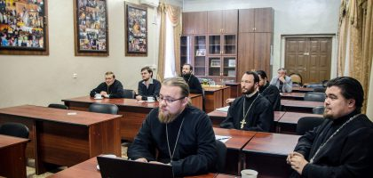 В Казанской семинарии состоялась предзащита дипломных работ