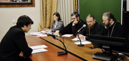 Итоговый междисциплинарный экзамен у студентов бакалавриата Казанской семинарии