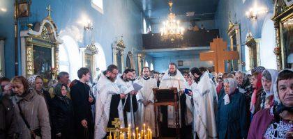 Троицкая родительская суббота в храме при Казанской семинарии