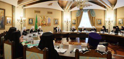 Высший Церковный Совет обсудил вопрос образовательного стандарта в регентских отделениях