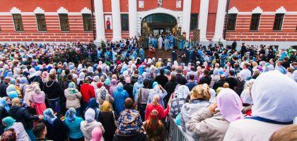 Празднование обретения Казанской иконы Божией Матери
