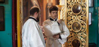 Выпускник Казанской семинарии рукоположен во диакона