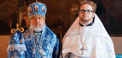 Иерейская хиротония студента Казанской семинарии