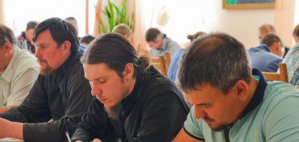 В Казанской семинарии начались вступительные экзамены