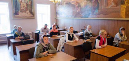Вступительные испытания абитуриентов Казанской семинарии на отделение дополнительного образования
