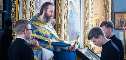 Начало учебного года в Казанской семинарии