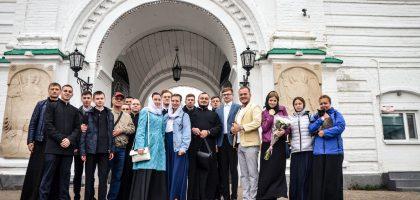 Студенты семинарии приняли участие в престольных торжествах Раифского монастыря
