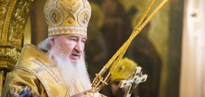 В день своего тезоименитства митрополит Феофан возглавил Литургию в Благовещенском соборе Казанского кремля