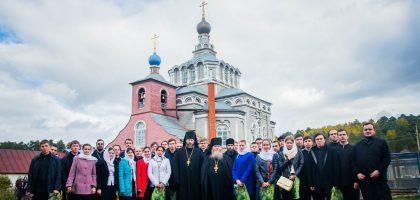 Студенты Казанской семинарии почтили память преподобного Гавриила Седмиезерного