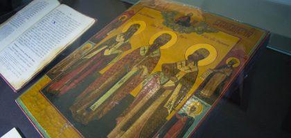 Студенты духовной семинарии посетили выставку  «Пастыри Казанские»