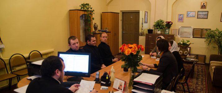 В духовной семинарии прошло итоговое воспитательское совещание первого семестра