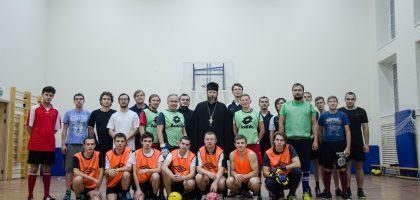 В Казанской семинарии состоялся ежегодный футбольный турнир