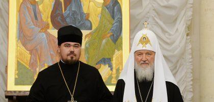 Святейший Патриарх вручил Макариевскую премию секретарю Ученого совета Казанской семинарии