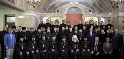 Первый проректор Казанской семинарии принял участие в актовом дне Минской духовной академии