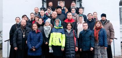 Участники международного молодежного форума посетили Казанскую семинарию