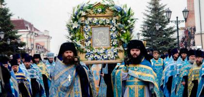 Администрация и студенты КазПДС приняли участие в торжествах в честь Казанской иконы Божией Матери
