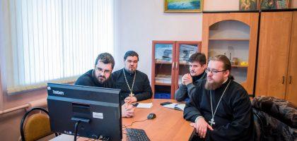 Казанская семинария приняла участие в очередном вебинаре Учебного комитета