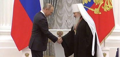 Ректор Казанской семинарии митрополит Феофан удостоен ордена Российской Федерации «За заслуги перед Отечеством»