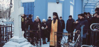 Студенты Казанской семинарии почтили память архиепископа Сергия (Королева)