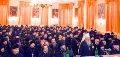 В Казанской православной духовной семинарии прошло ежегодное собрание духовенства Казанской епархии