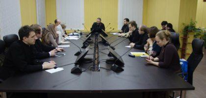 Круглый стол, посвященный актуальности решений Поместного Собора 1917-1918 гг