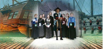Экскурсия студенток регентско-катехизаторского отделения по «Городской панораме»