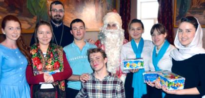 Рождественский концерт для учащихся воскресной школы