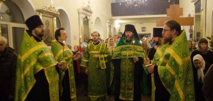 В Казанской семинарии прошли торжества по случаю престольного праздника