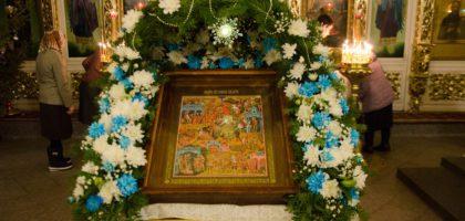 В Казанской семинарии встретили Рождество Христово