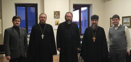 Казанскуюправославную духовную семинарию посетили коллеги из Уральского государственного горного университета