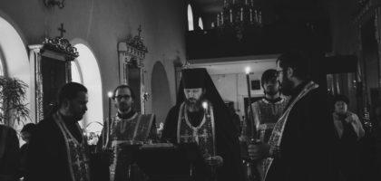 Служба Стояние Марии Египетской в Казанской православной духовной семинарии