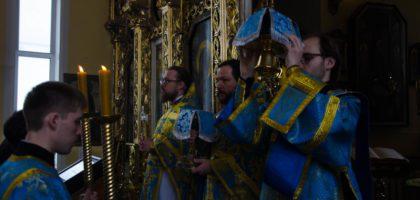 Празднование Похвалы Пресвятой Богородицы в Казанской православной духовной семинарии