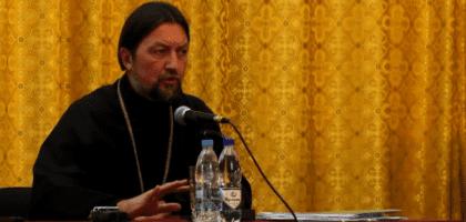 Лекция профессора Московской духовной академии протоиерея Максима Козлова в Казанской духовной семинарии