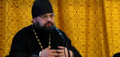 Лекция протоиерея Димитрия Сафонова о Межрелигиозном Совете России