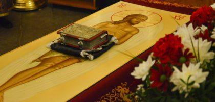 В Казанской семинарии совершилось Богослужение с выносом и погребением Плащаницы