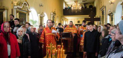 Поминовение усопших на Радоницу в Казанской духовной семинарии