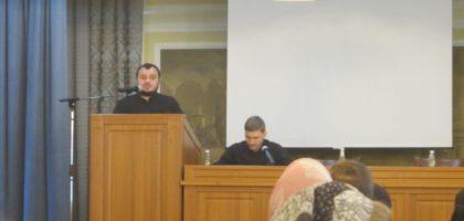 Проректор по воспитательной работе принял участие в Свято-Игнатиевских чтениях в Ставропольской духовной семинарии