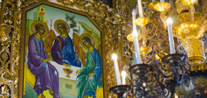 В Казанской семинарии встретили праздник Святой Троицы