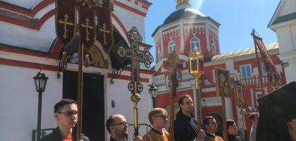Студенты 2 курса Казанской духовной семинарии приняли участие в престольном празднике Кизического монастыря