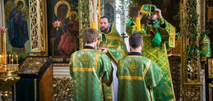 День Святого Духа в Казанской православной духовной семинарии