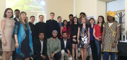 «Живое слово – святыня сердца моего…»: преподаватели и студенты Семинарии приняли участие в мероприятии, посвященном Дню славянской письменности и культуры