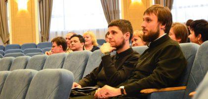 Студенты духовной семинарии приняли участие в открытой лекции по истории философии в КИУ