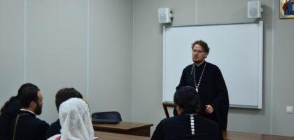 Вступительные экзамены в магистратуру прошли в духовной семинарии