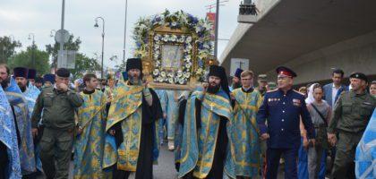 Администрация и студенты КазПДС приняли участие в торжествах в честь  обретения Казанской иконы Божией Матери