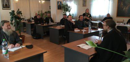 Проректор Казанской семинарии прочитал курс лекций для духовенства Уфимской епархии