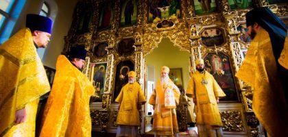В праздник Собора Казанских святых архипастыри Татарстанской митрополии возглавили торжества в Казанской семинарии