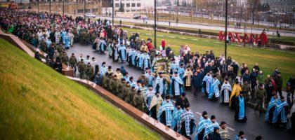 АДМИНИСТРАЦИЯ И СТУДЕНТЫ КАЗАНСКОЙ СЕМИНАРИИ ПРИНЯЛИ УЧАСТИЕ В ТОРЖЕСТВАХ В ЧЕСТЬ КАЗАНСКОЙ ИКОНЫ БОЖИЕЙ МАТЕРИ