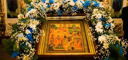 В Казанской семинарии встретили праздник Введения во храм Пресвятой Богородицы