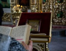 Празднование памяти сорока мучеников Севастийских в Казанской духовной семинарии